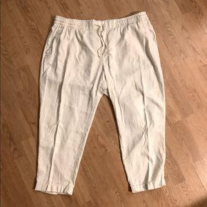 Summer Pants -Old Navy - Bone color
